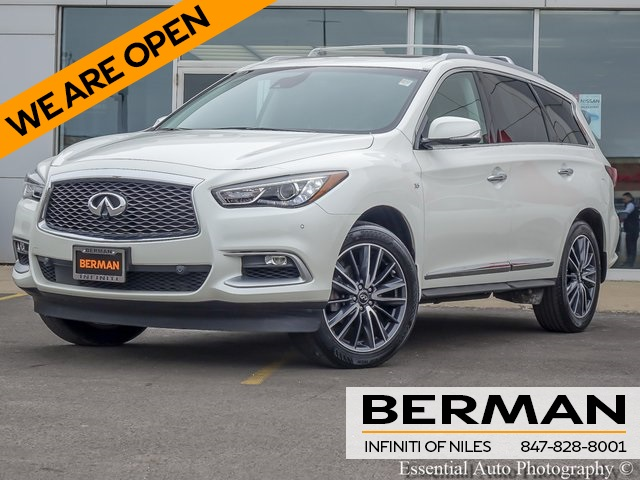 Certified Pre-Owned 2016 INFINITI QX60 w/Deluxe Technology Package