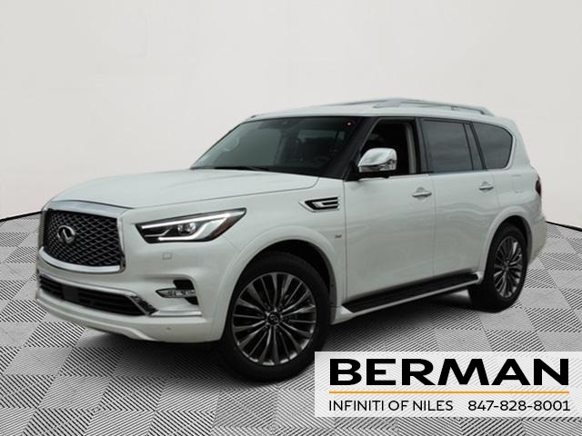 New 2019 Infiniti Qx80 Luxe 4wd Suv For Sale In090 Berman